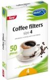Filtre de cafea nr. 4, 50 buc/set Stella