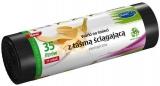 Saci menaj Ecologici LDPE cu snur pentru inchidere 35 L15 buc/set Stella