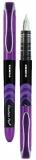 Stilou de unica folosinta Fuente, culoare violet Zebra