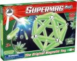 Supermag Maxi Glow - Set Constructie Luminos 66 Piese Supermag