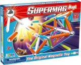 Supermag Maxi Neon - Set Constructie 66 Piese Supermag