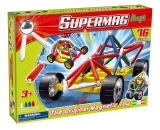 Supermag Maxi Wheels - Set Constructie 76 Piese Supermag