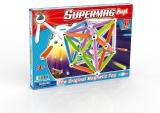 Supermag Maxi Neon - Set Constructie 92 Piese Supermag
