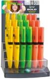 Creioane mecanice 0.5 mm, Bold, diverse culori, 36 buc/display Serve