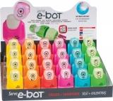 E-Bot Combo radiera + ascutitoare 24 bucati prezentare pe display expunere SERVE