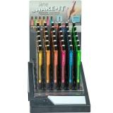 Creioane mecanice 0.7 mm, Shake-It, diverse culori, 36 buc/display Serve