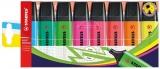 Textmarker Boss Original 8 culori/set Stabilo