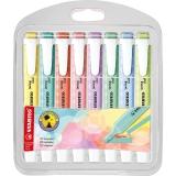 Textmarker Swing Cool Pastel, 8 culori/set Stabilo
