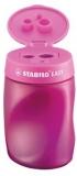 Ascutitoare EasySharpener roz, pentru stangaci Stabilo
