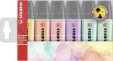 Textmarker Boss Original Pastel 6 culori/set Stabilo