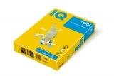Hartie copiator IQ color intens A4 sun yellow 80 g/mp, 500 coli/top