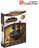 Puzzle 3D Nava Queen Anne 155 Piese Cubicfun