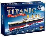 Puzzle 3D Nava Mare Titanic 113 Piese Cubicfun