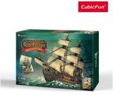 Puzzle 3D Nava San Felipe 248 Piese Cubicfun