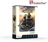 Puzzle 3D Nava Queen Anne 100 Piese Cubicfun