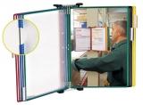 Sistem de prezentare perete magnetic 10 buzunare Tarifold