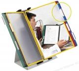 Sistem de prezentare pentru birou metalic 10 buzunare Tarifold