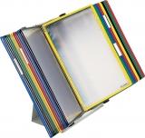 Sistem de prezentare pentru birou metalic 20 buzunare Tarifold