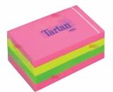 Notite adezive culori neon 38 mm x 51 mm 12 buc/set  Tartan 3M