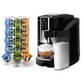 Abonament lunar capsule cafea, Ultra, 200 capsule/luna cu Espressor Tchibo Cafissimo Latte Professional in custodie