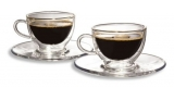 Set cesti sticla Caffee Crema 200 ml 2 bucati/set Tchibo