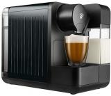 Espressor capsule Tchibo Cafissimo milk black, cu rezervor lapte 400 ml pentru Cappuccino si 3 nivele de presiune, culoare negru