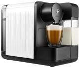 Espressor capsule Tchibo Cafissimo milk white, cu rezervor lapte 400 ml pentru Cappuccino si 3 nivele de presiune, culoare alb