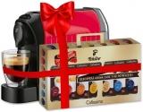 Espressor Tchibo Caffisimo Easy Red + Set capsule cafea Tchibo Cafissimo Clasic 7 cutii/set