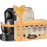 Espressor Tchibo Cafissimo Easy Beige + Set capsule cafea Tchibo Cafissimo Blonde Collection 6 cutii/set