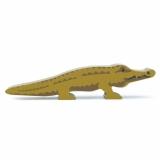 Figurina din lemn premium, Crocodil, Tender Leaf Toys