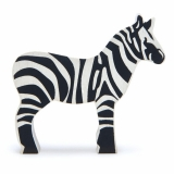 Figurina din lemn premium, Zebra, Tender Leaf Toys