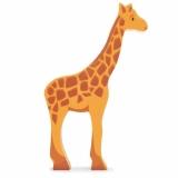 Figurina din lemn premium, Girafa, Tender Leaf Toys