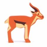 Figurina din lemn premium, Antilopa, Tender Leaf Toys