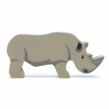 Figurina din lemn premium, Rinocer, Tender Leaf Toys