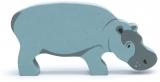 Figurina din lemn premium, Hipopotam, Tender Leaf Toys