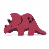 Figurina din lemn premium, Triceratops, Tender Leaf Toys