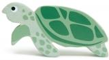 Figurina din lemn premium, Broasca testoasa, Tender Leaf Toys