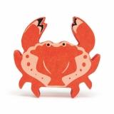 Figurina din lemn premium, Crab, Tender Leaf Toys