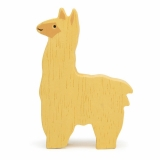 Figurina din lemn premium, Alpaca, Tender Leaf Toys