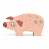 Figurina din lemn premium, Porcusor, Tender Leaf Toys