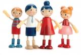 Set 4 figurine din lemn premium, Tender Leaf Toys
