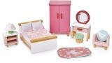 Set mobilier dormitor Dovetail, din lemn premium, Tender Leaf Toys