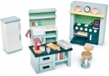 Set mobilier bucatarie, din lemn premium Dovetail, Tender Leaf Toys