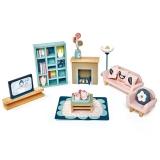 Set mobilier camera de zi, din lemn premium Dovetail, Tender Leaf Toys