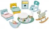 Set mobilier camera copiilor, din lemn premium Dovetail, Tender Leaf Toys