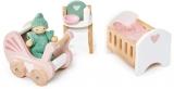 Set mobilier camera pentru bebelusi, din lemn premium Dovetail, Tender Leaf Toys
