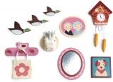 Set decoratiuni pentru perete, din lemn premium, Tender Leaf Toys