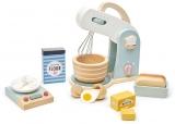 Robot de bucatarie, din lemn premium Mini Chef Home Tender Leaf Toys