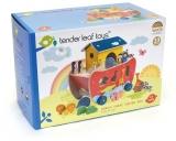 Set de joaca Arca lui Noe sortarea animalelor, 23 piese, Tender Leaf Toys