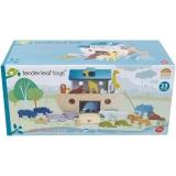 Set de joaca Arca lui Noe, 25 piese, Tender Leaf Toys